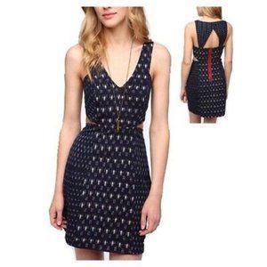 Staring at Stars Ikat Cutout Mini Dress sz 2